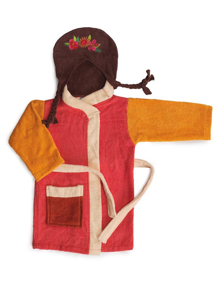 Albornoz Infantil modelo Frida