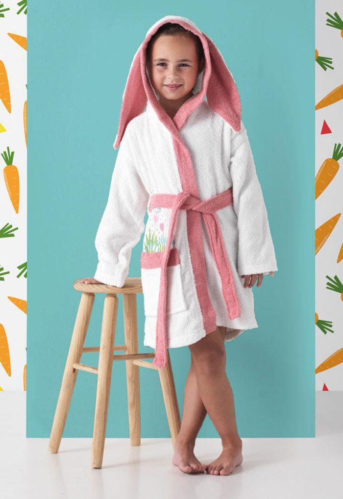 Albornoz Infantil modelo Alicie