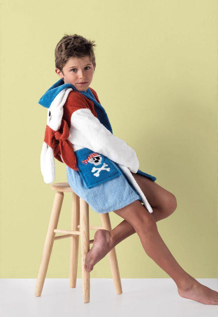 Albornoz Infantil modelo Jack