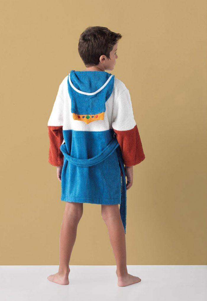 Albornoz Infantil modelo king