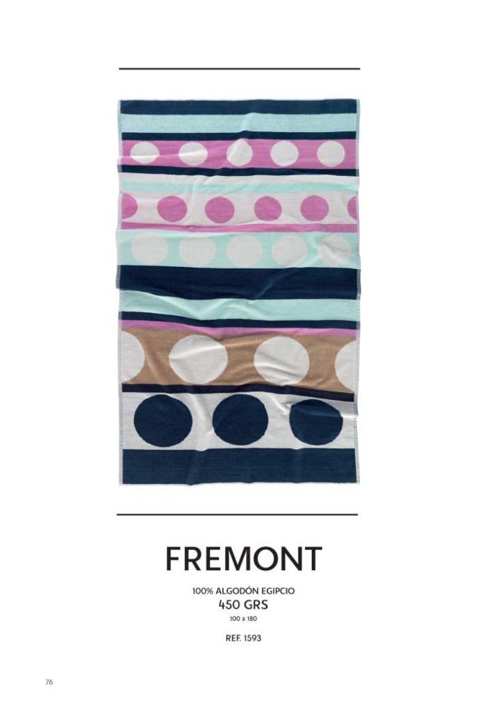 Toalla playa algodón egipcio Freemont